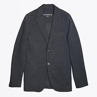 Circolo 1901  - Wool-Blend Stretch Blazer - Grey