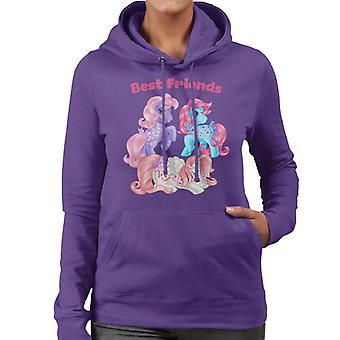 My Little Pony Best Friends Smiling Women's Hooded Sweatshirt