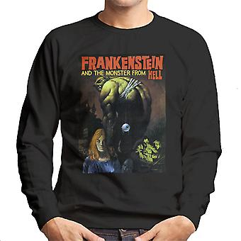 Hammer Horror Films Frankenstein Dangling Eye Ball Men's Sweatshirt