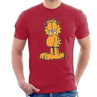 Garfield fodret op look mænd ' s T-shirt