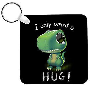 Söpö T Rex Haluan vain halata avaimenperä