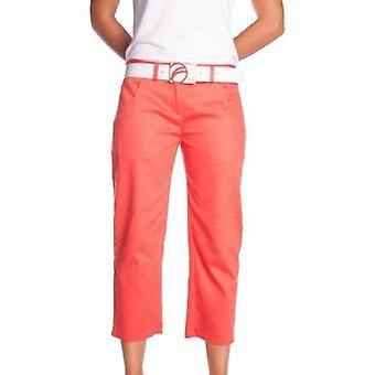 Fayde golf capri trousers - coral