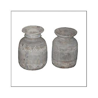 Deco4yourhome Nepalese Pot Processed Brown