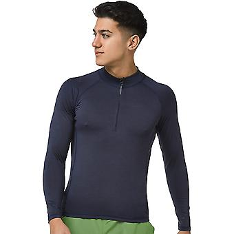 Craghoppers Mens NosiLife Helio Rash Half Zip Active Top