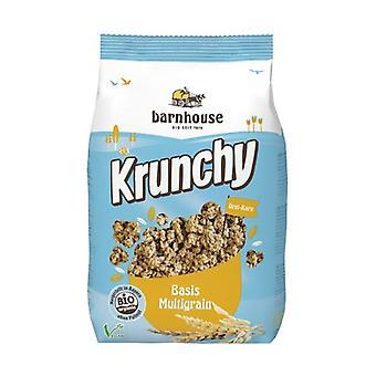 Müsli Krunchy Grundlæggende Multigrain 600 g
