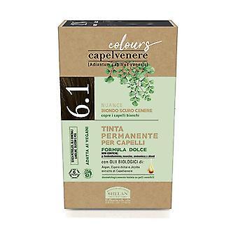Capelvenere Färger - 6.1 Mörk Ask Blond 1 enhet
