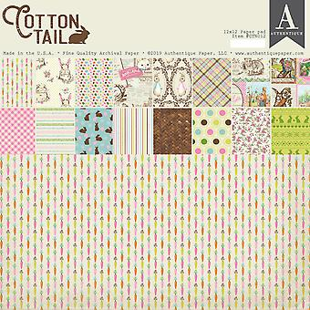 Authentique Cottontail 12x12 pulgadas de papel Pad