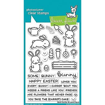 Lawn Fawn Några Bunny Tydliga Frimärken