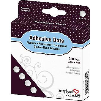 Scrapbook Adhesives Adhesive Dots Medium (300pcs) (01301)