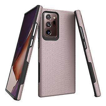 For Samsung Galaxy Note 20 Ultra Armour Case Tough Protective Cover Rose Gold