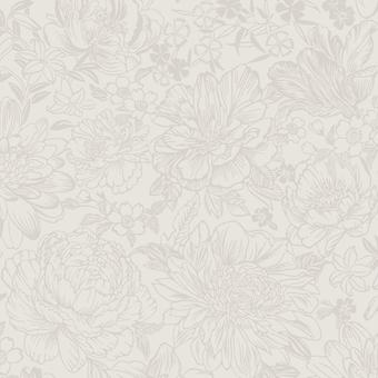 Imogen Floral Wallpaper Cream Holden 65702