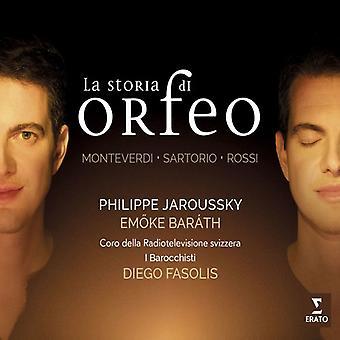 Jaroussky / Barath / Barrocchisti / Fasolis - La Storia Di Orfeo [CD] USA import