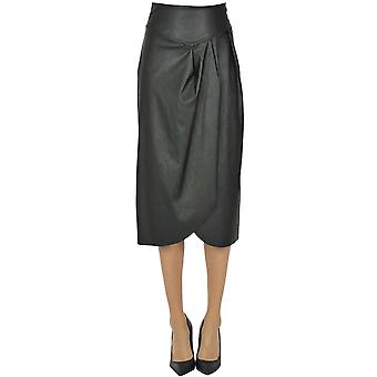 Sinaja Ezgl562001 Femme-apos;s Jupe en polyester noir
