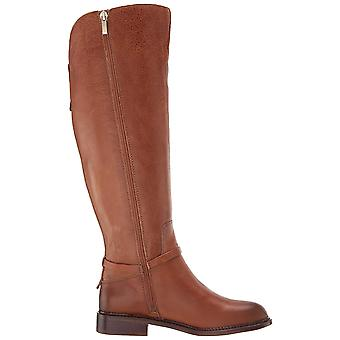 Franco Sarto Women's Shoes Haylie Wide Calf Leather Almond Toe Knee High Fash...