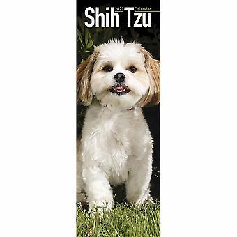 Otter House 2021 Slim Calendar -shih Tzu