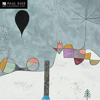 Paul Klee Wall Kalender 2021 Art Calendar door Gemaakt door Flame Tree Studio