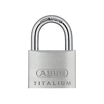 ABUS 64TI/50mm ΤΙΤΑΛΙΟ Λουκέτο με κλειδί όμοιο ka6512 ABUKA56206