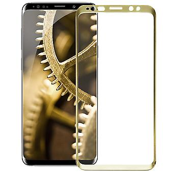 1x Full Cover for Samsung Galaxy S9+ / S9 Plus Protective Glass Hard Genuine Glass Gold