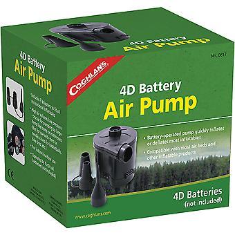 Coghlan's 4D Battery Air Pump, Cordless Portable Inflatable Bed Mattress Fill