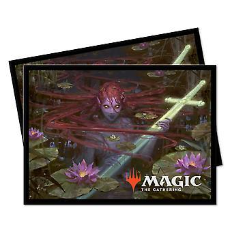 Ultra Pro Magic Samlingen: Tronen av Eldraine Lurker av Lake 100 Deck Protector Ermer