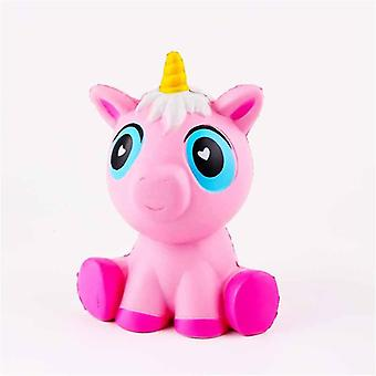 Unicórnio Frutas Animais Squishy Jumbo Cute Slow Rising Kawaii Squishy Toy - Anti