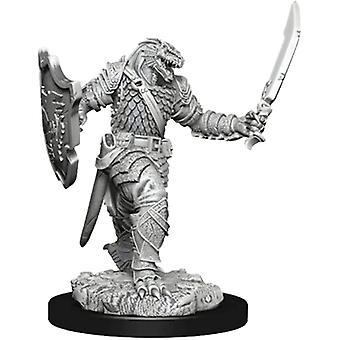 Dragonborn Vrouwelijke Paladin D & D Iconen van de Realms Premium Cijfers (Pack van 6)