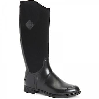 Muck Boots Derby Tall Ladies Rubber Wellington Boots Black
