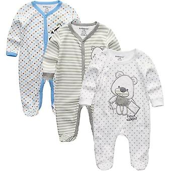 Newborn Baby Clothes, Romper Long Sleeve Clothing Overalls Costumes