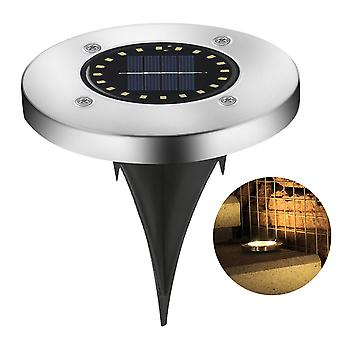 1pc 8led Solar Licht im Freien wasserdicht 8 Led Solar Street Light Garden Dekor