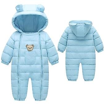 Newborn Snowsuit Baby Spring Winter Coat Warm Outerwear Kombinezon, Kombinezon dla dzieci