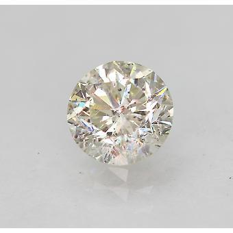 Zertifiziert 0.68 Karat I SI1 Runde Brillant Verbessert natürliche lose Diamant 5.54mm