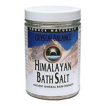 Source Naturals Crystal Balance Himalayan Bathsalt, 16 oz