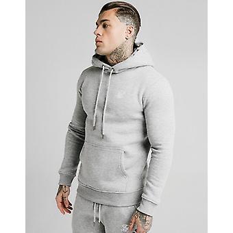 Novo SikSilk Men''s Core Fleece Overhead Hoodie Grey