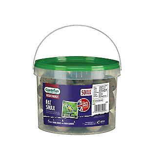 Gardman No Nets Fat Snax x 50 Tub A04225PD