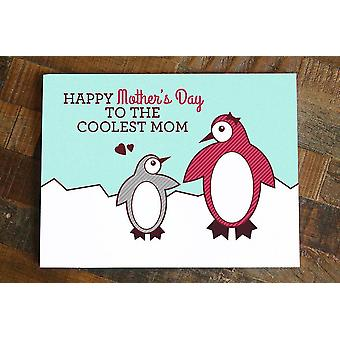 Penguin Happy Mother's Day Card