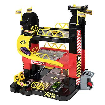 Teamsterz 3 Level Tower Garage With 5 Die Cast Toy Vehicles