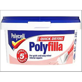 Polycell Multi Purpose Quick Dry Polyfilla Tub 500g
