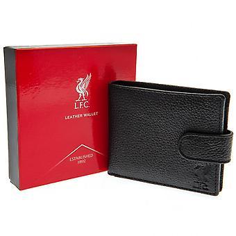 Liverpool FC Debossed Crest läder plånbok