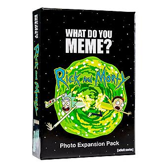 Was memest du? rick & morty Expansion