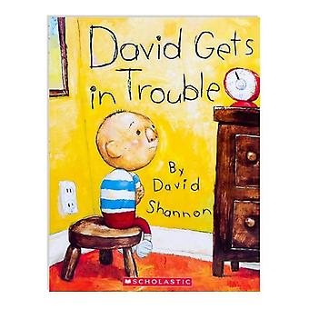 3 Styles David Shannon Books No David, David Gets In Trouble English Cognitive