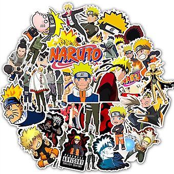 Naruto Waterproof Sticker For Laptop/car/trunk/skateboard/guitar Fridge Kids
