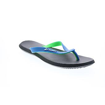 Rider R1 Rider  Mens Black Synthetic Flip-Flops Sandals Shoes