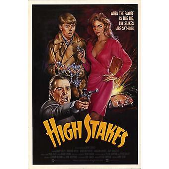 Poster do filme High Stakes (11 x 17)
