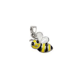 Anhänger Bee Mehrfarbig Silber 925