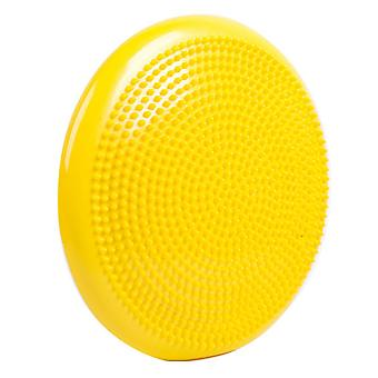Balance Cushion for Fitness Pilates Yoga Balance Disk Yellow
