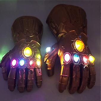 The  Thanos Endgame 4  Gauntlet Cosplay Costume  Stones Led Gauntlet Glove