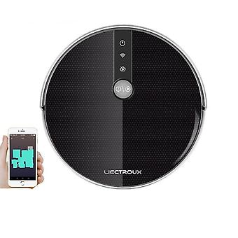 Robot Vacuum Cleaner Smart Mapping, app & Voice Control (noir)