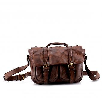 The Boston (S) - Brown Choco - Wash Leather