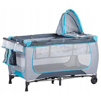 Baby reis bed - 125x65x73 cm - opvouwbare reiswieg