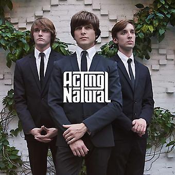 Actúa Natural - importación de Estados Unidos de actuar Natural EP [CD]